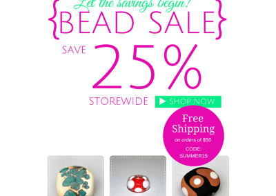 Cave Dweller Beads, Facebook promotion