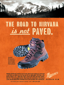 Road to Nirvana, Danner Boot Company