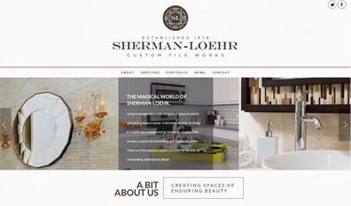 Sherman Loehr Custom Tile Works, Daryle Rico Creative Services
