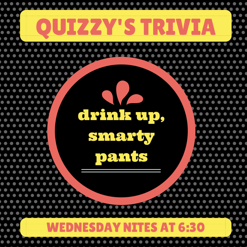 Quizzy's Trivia, Facebook promotion for Greeley Avenue Bar & Grill